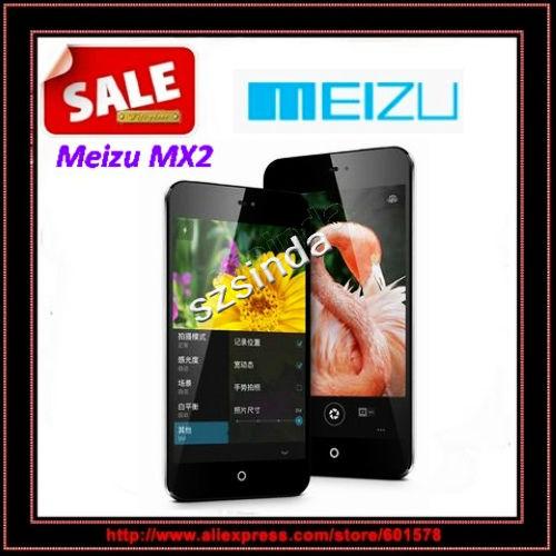 Quad Core mobile phone Original MEIZU MX2 16GB ROM 4.4 Inch touch screen dual Camera GSM+WCDMA Cellphone / Anna(Hong Kong)