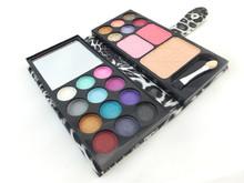 Free Ship 12 Color Eyeshadow Eye Shadow Palette Professional Makeup Kit Makeup Set Make up Cosmetic Blush Blusher Powder Palette(China (Mainland))