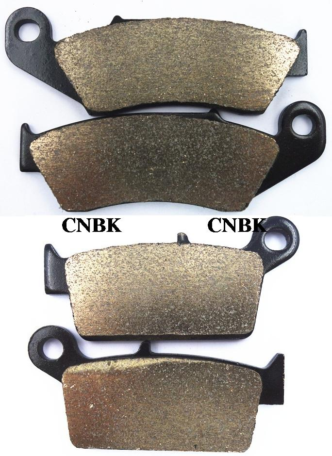 Sinter Disc Brake Pads Set fit KAWASAKI 250 KX KX250 1995 2002 2003 2004 2005 2006 2007 2008(China (Mainland))