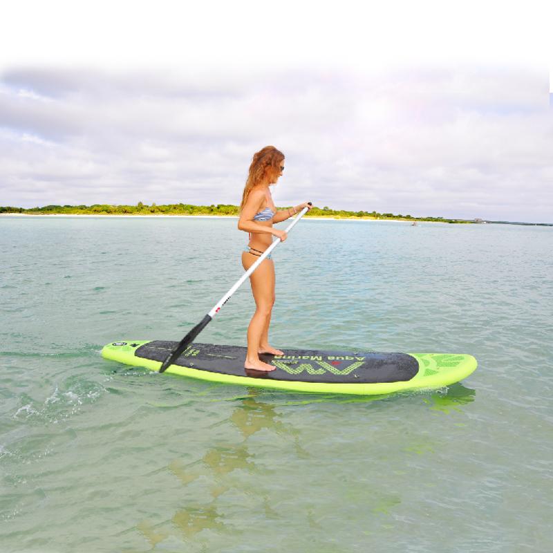 300*75*10cm AQUA MARINA BREEZE inflatable SUP stand up paddle board surf board surfboard fishing kayak inflatable boat leg leash(China (Mainland))