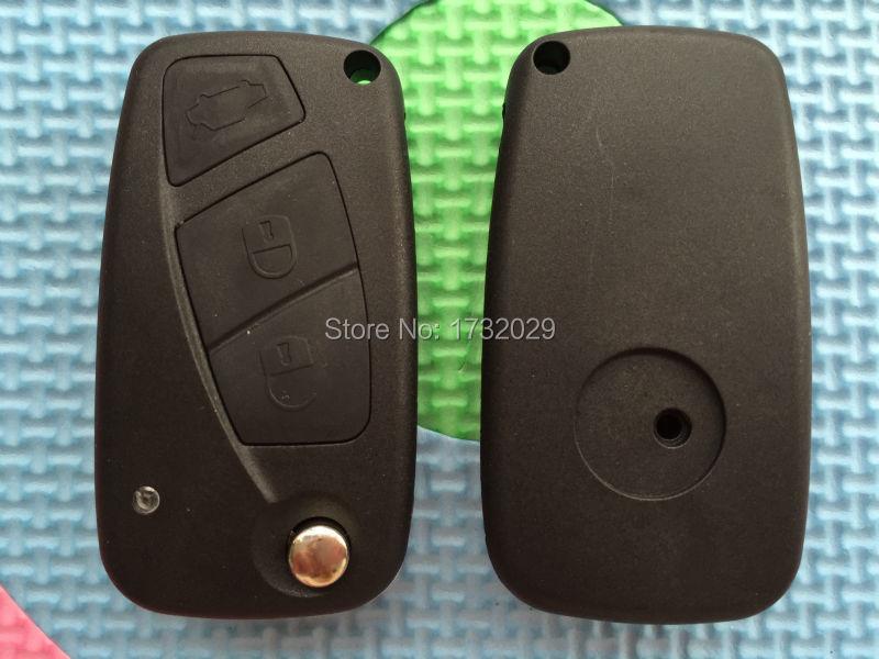 For Fiat Punto Grande Bravo Stilo Idea Replacement 3 button remote key FOB shell(China (Mainland))