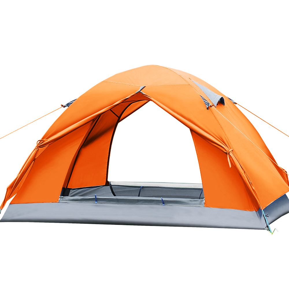 New Camping Tents 200*140*110 cm 2 Person Tents Waterproof Double Layer Outdoors Durable 210D Oxford Picnic Tent(China (Mainland))