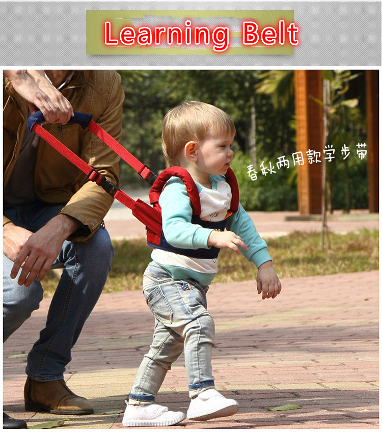 Baby Toddler dual-purpose breathable basket type cotton baby toddler learning belt security anti lost walking assistant belt(China (Mainland))