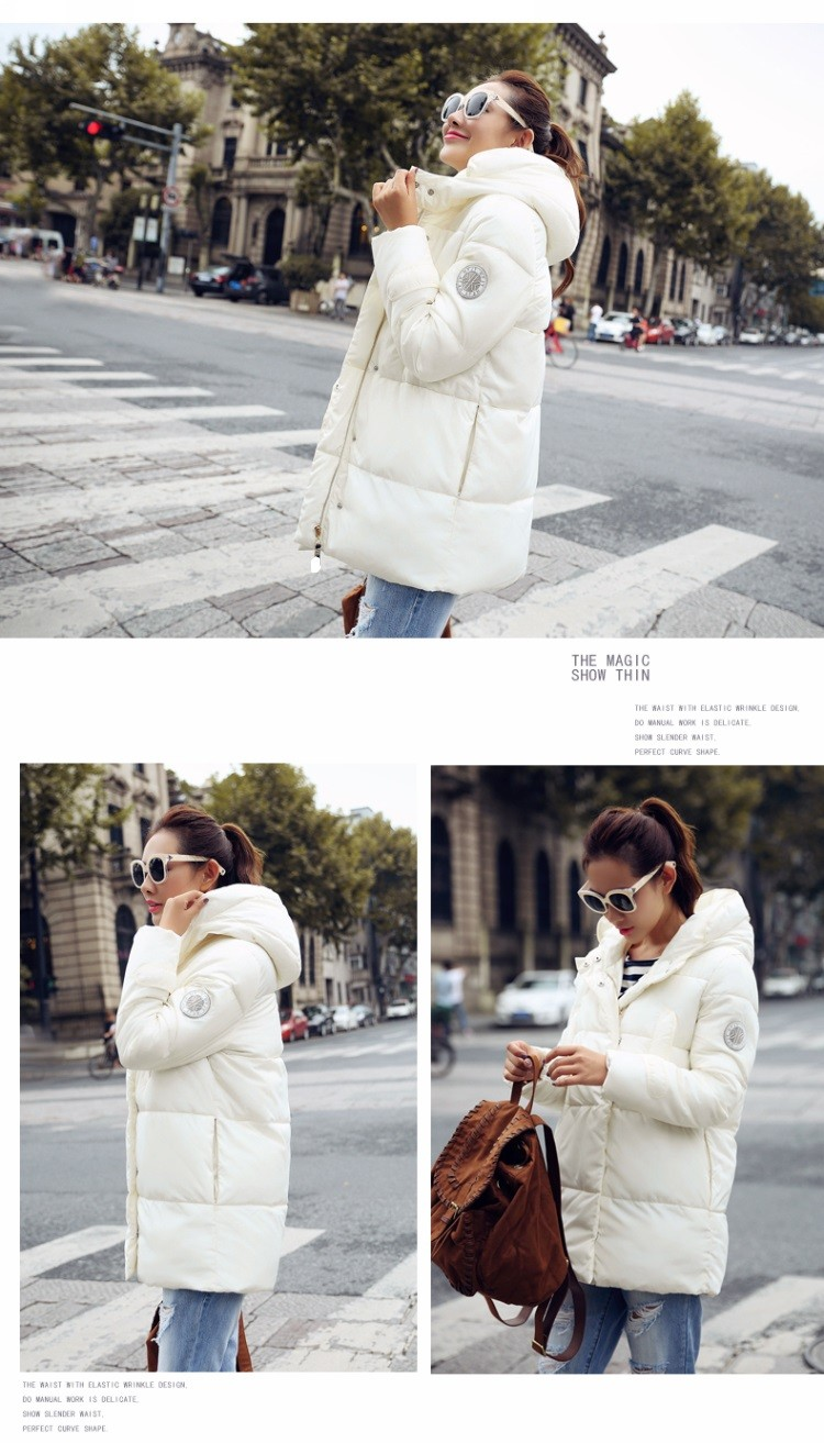 Plus-Size New 2016 Long Parkas Female Women Winter Coat Thick  Cotton Winter Jacket Women Outwear Parka For Women Winter