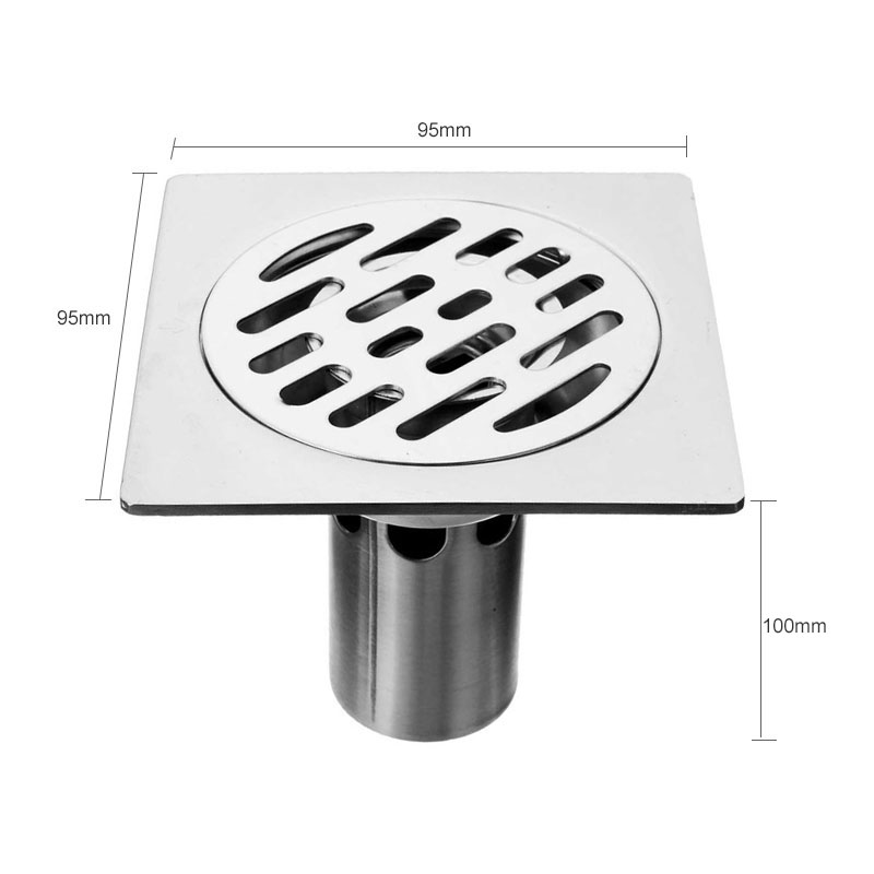 Building Materials Stainless Steel Bathroom Drainer Accessories Water Outlet for Bathroom Washing Machine Kitchen Drains<br><br>Aliexpress