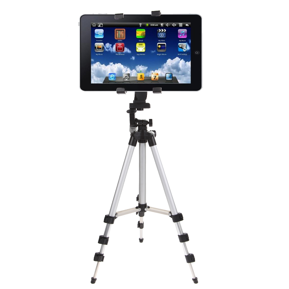 Professional UN2F Camera Tripod Stand Holder For iPad 2 3 4 Mini Air Pro For Samsung High Quality Tripod Stand Holder
