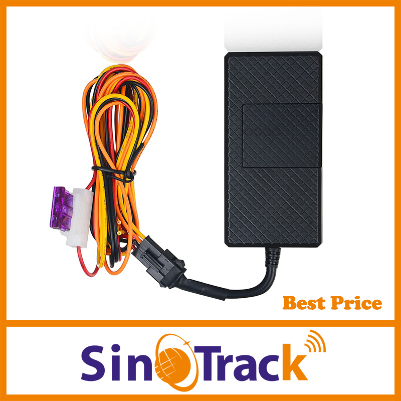 Cheap GPS Tracker Vehicle Tracking Device China manufacturer Mini Motorcycle Car GPS Locator SMS GSM Monitoring Remote control(Hong Kong)