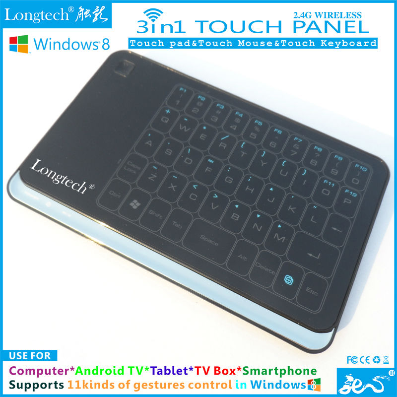 Win 8 TouchPad with 48 touch keys and supports win7/XP/Mac/Linux/Ubuntu PC Systems as well World No.1 Item Free Shipping(China (Mainland))