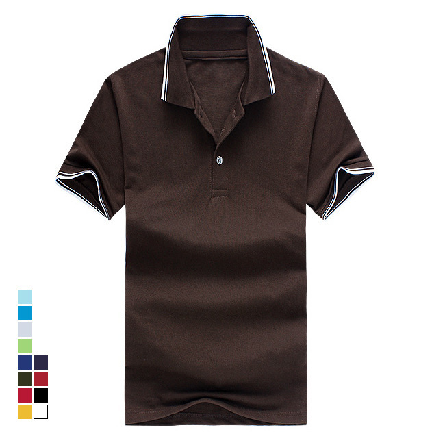 Buy 2016 new top quality cotton mens for Best quality polo shirts for men
