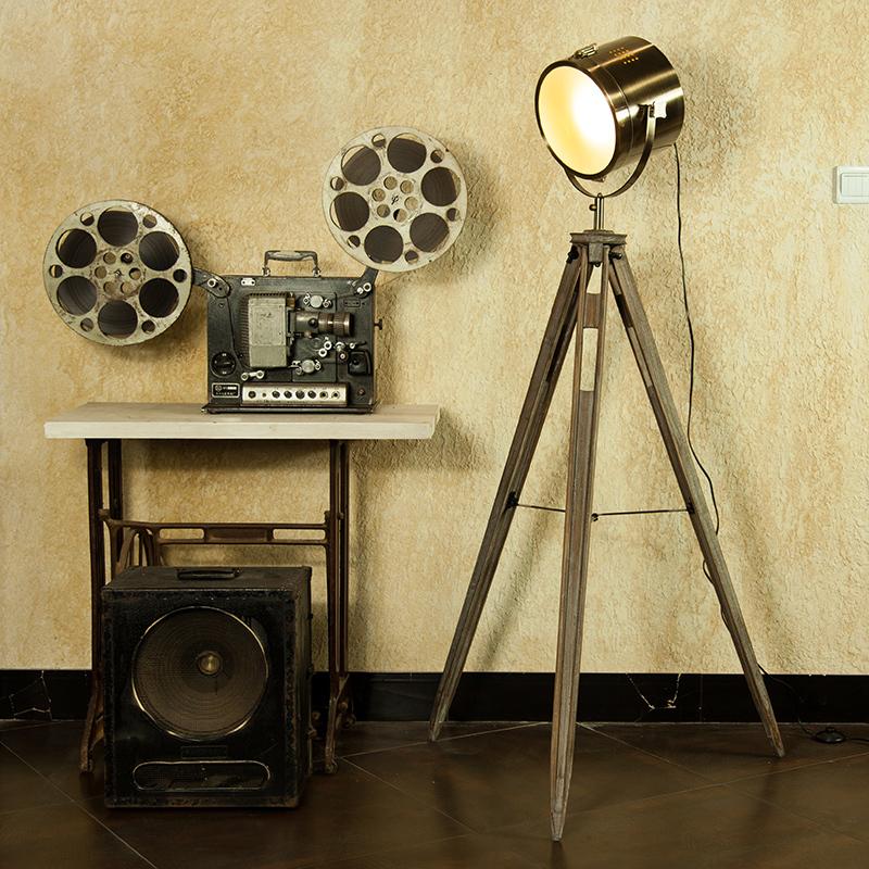 Modern loft photography light vintage wool brandise american style floor lamp<br><br>Aliexpress