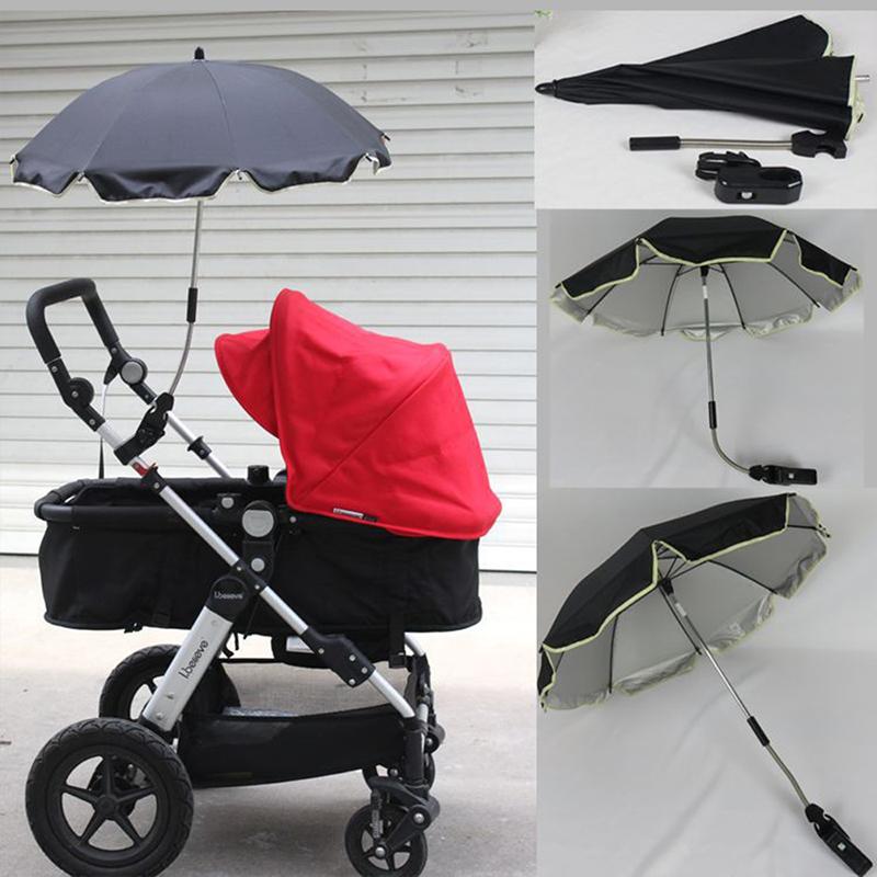 Umbrella strollers Nylon sun canopy UV 360 Degrees Adjustable Direction Stroller Baby bike Accessories(China (Mainland))