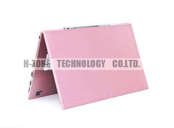"Free shipping 13.3"" laptop computer,2GB RAM 320GB HDD,Intel Celeron 1037U Dual Core 1.8Ghz, DVD-RW, Win7 OS,Bluetooth HZ-S133(China (Mainland))"