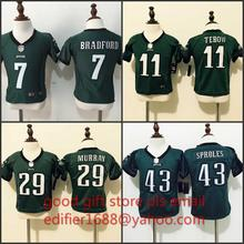 100% stitched baby Philadelphia Eagles toddler 7 Sam Bradford 11 Tim Tebow 29 DeMarco Murray 43 Darren Sproles,camouflage(China (Mainland))