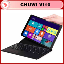 "2 in 1 pz tablet 10.6 ""chuwi originale vi10 dual boot quad core wifi 2g 32g win 8.1 + android 4.4 hdmi 2.13 ghz Z3736F(China (Mainland))"