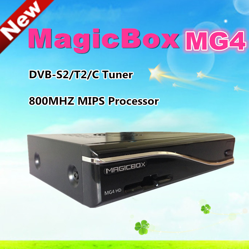 High quality Magic MG4 HD tv box support YouTobe Media Player dvb s2+t2+c triple tuner with 300M wifi MG4 HD satellite receiver(China (Mainland))