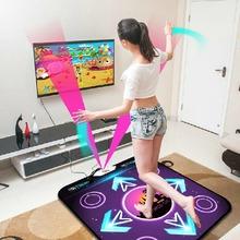 Free Shipping New 2014 USB Non-Slip Dancing Step Dance Game Blanket Mats Mat Pads For PC AV TV