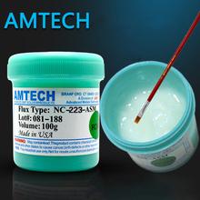 Amtech RMA-223-UV 100g SMT / SMD BGA Soldering Solder Flux Paste For PCB Rework Reballing Welding Repair C0014(China (Mainland))