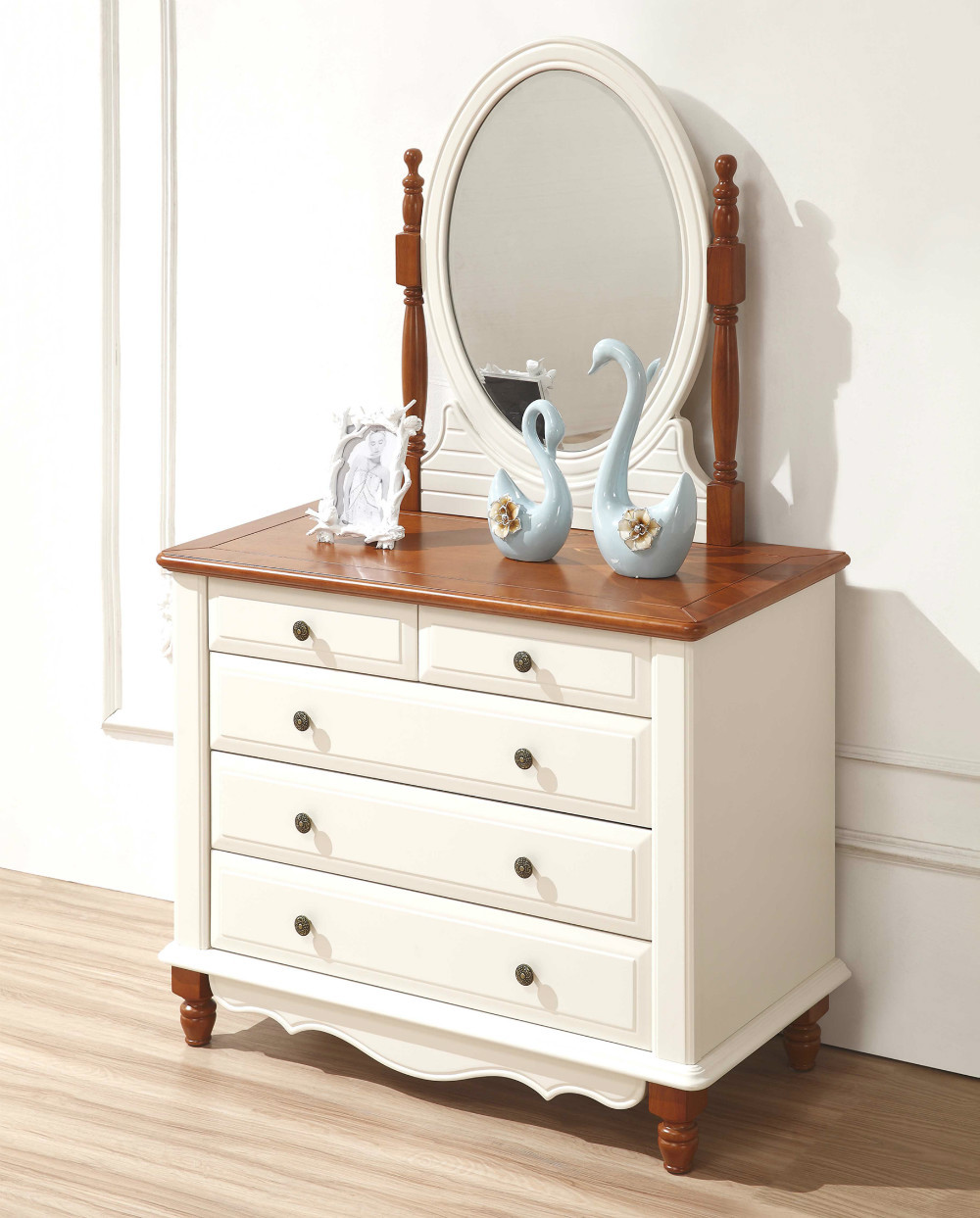 Buy 1 bed 2 bedside dresser mirror for Mediterranean style bedroom furniture