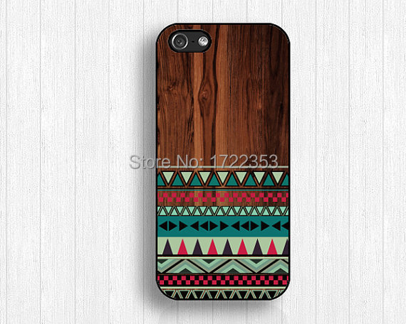 Wood Geometry Cover Case for iPhone 4 4s 5 5s 5c 6 plus Samsung galaxy A5 S3 S4 S5 Mini S6 Edeg Note 2 3 4(China (Mainland))