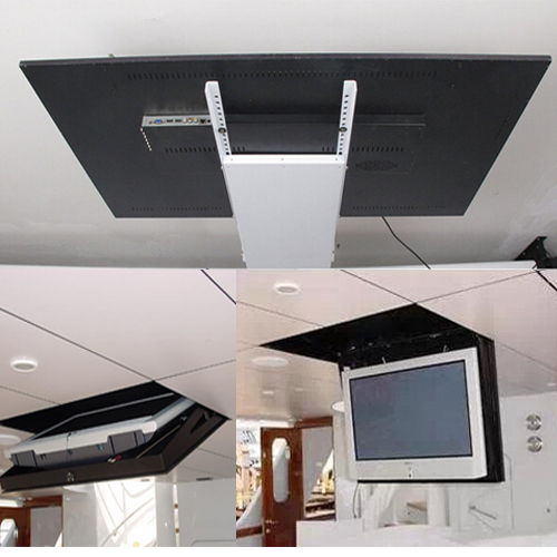 32 inch to 55 inch tv ceiling hidden lift<br><br>Aliexpress