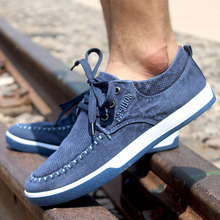 Hot sale! Newest 2015 Summer Autumn Casual Men's Shoes Fashional Necessary Denim Canvas Shoes(China (Mainland))
