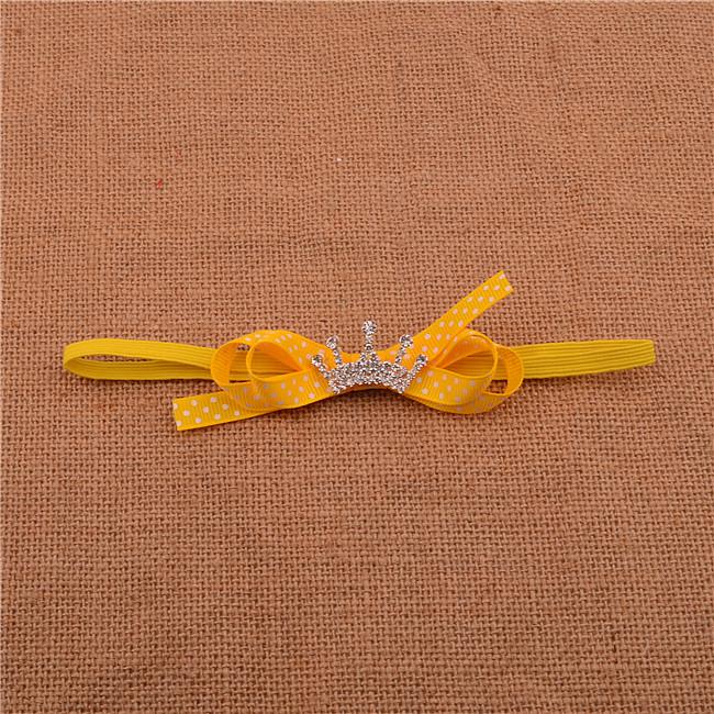 201 Handmade Grosgrain Ribbon Bow headband baby Girls satin ribbon bow headband Crown drill Hair Accessories Craft 150pcs/lotОдежда и ак�е��уары<br><br><br>Aliexpress