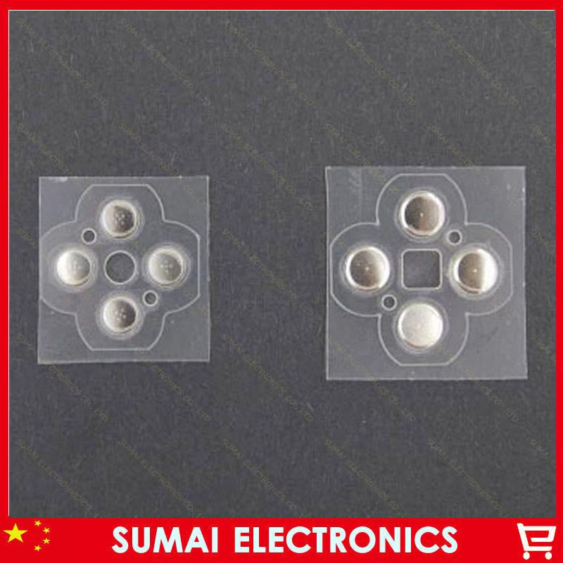 50set  Cross Keys&amp;ABXY Key Button membrane Button stickers Repair Part For Nintendo 3DS 3DSLL 3DSXL Controller<br><br>Aliexpress