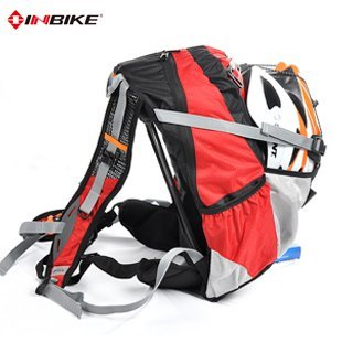 INBIKE [ poly buy ] outdoor riding backpack bicycle riding equipment riding package comes with rain cover