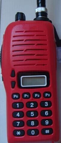 2pcs IC-3FGX waterproof walkie talkie VHF 245-246MHz 5.5W 100 Channels DTMF Encoder Marine Two way Radio(China (Mainland))
