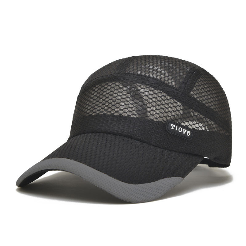 2016 Summer Breathe Freely Mesh Baseball Cap Men Outdoor Sport Hats Bone Cap with 4 Colors Z-2656()