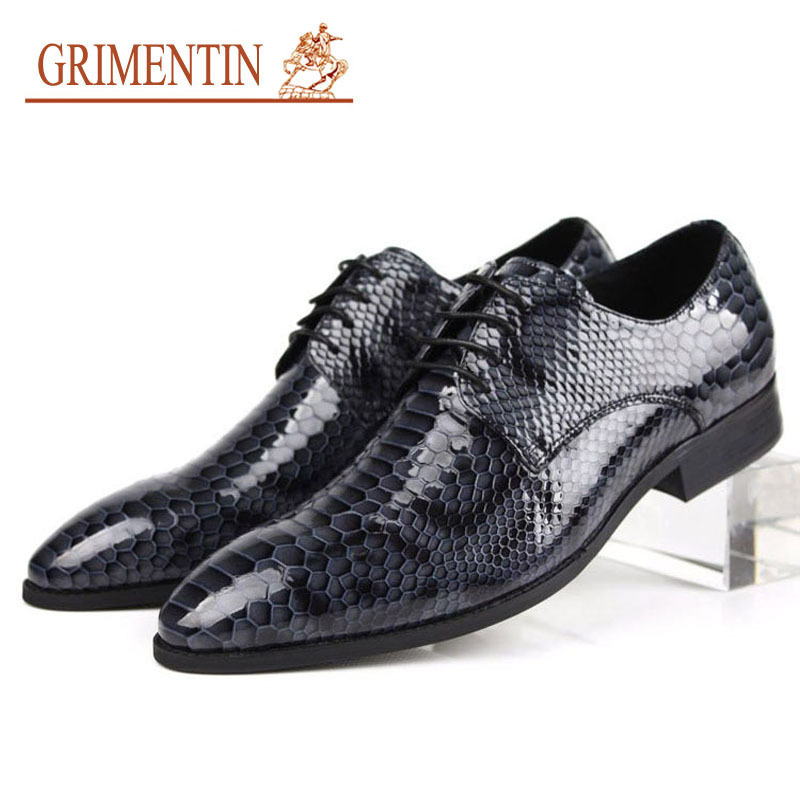 New 2015 Summer Cool Fashion Men Dress Shoes Genuine