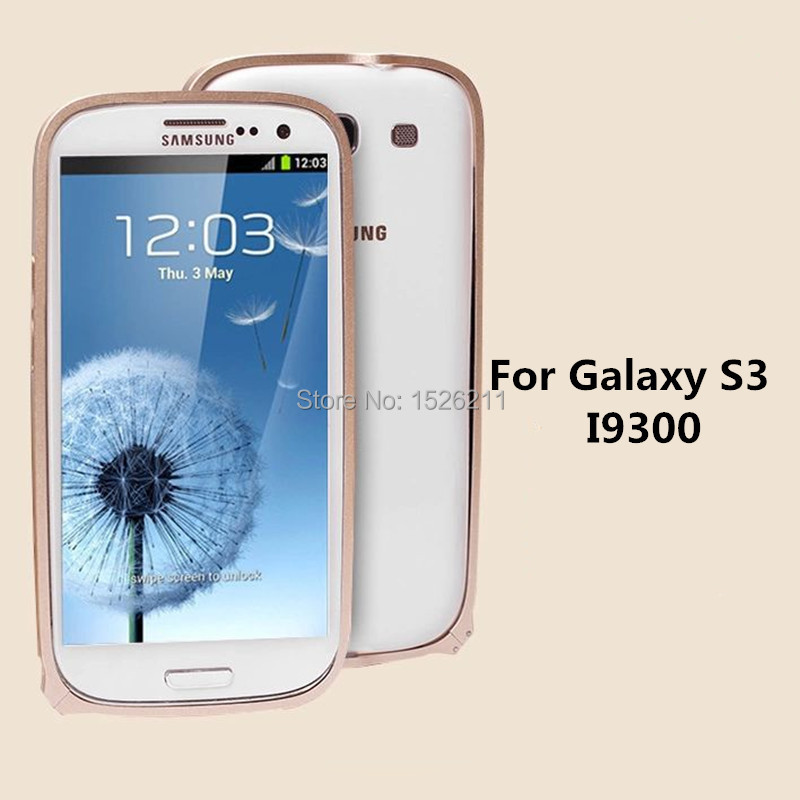 0.7mm Ultra-thin Bumper samsung Galaxy S3 Metal Frame Case I9300 Hard Material - Professional sales of mobile phone parts store