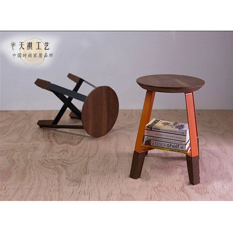 American Village loft wood stools outdoor chairs do the old retro styling chair wood chair can be customized coffee<br><br>Aliexpress