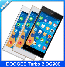Original 3G DOOGEE Turbo 2 DG900 5.0 Inch 18.0MP RAM 2GB+ROM 16GB Android 4.4 Smart Phone MTK6592 Octa Core 1.7GHz WCDMA GSM OTG