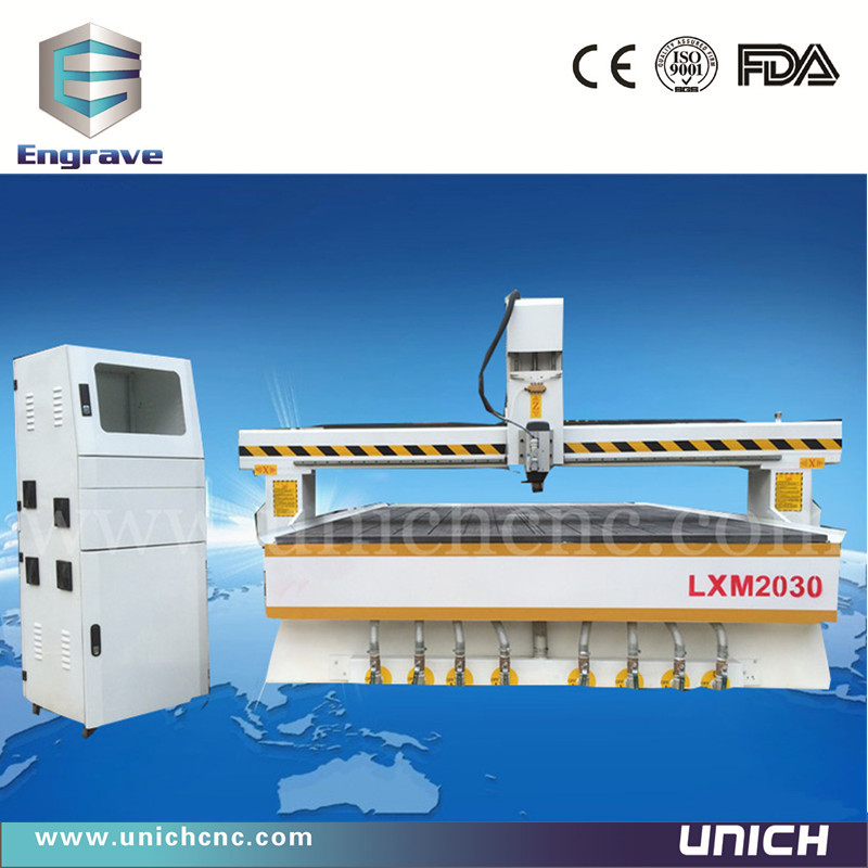 Unich!!! CE standard and high speed wood 2030 cnc cutter/3d engraver cnc router/3d scanner for cnc machine(China (Mainland))