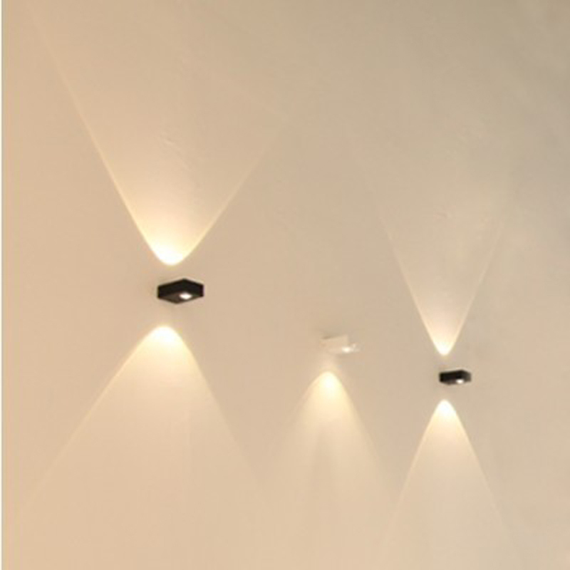 Quality Outside Wall Lights : 2-X-3W-COB-led-Quality-wall-lamp-modern-brief-waterproof-outdoor-led-wall-lights-aluminum.jpg