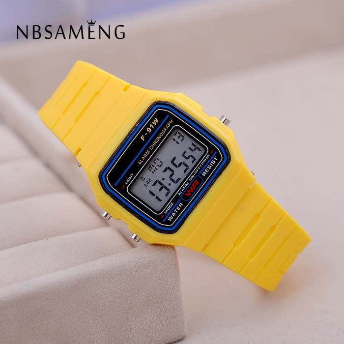 Fashion Sport Watch For Men Women Kid Colorful Electronic Led Digital Kids Watches Multifunction Jelly Wristwatch Clock Hour(China (Mainland))