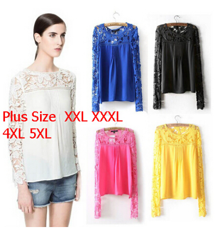 Женские блузки и Рубашки 2015 11 xs/5xl блузки и рубашки