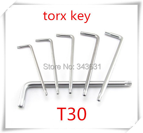 T30 High Quality Alloy Steel  Torx  Allen Wrench Spanner Fixing Tools Box end  wrench