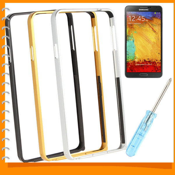 Smartphone Protection Aluminum Metal Bumper Frame Mobile Cell Phone Protective Case Cover for Samsung Note 3(China (Mainland))