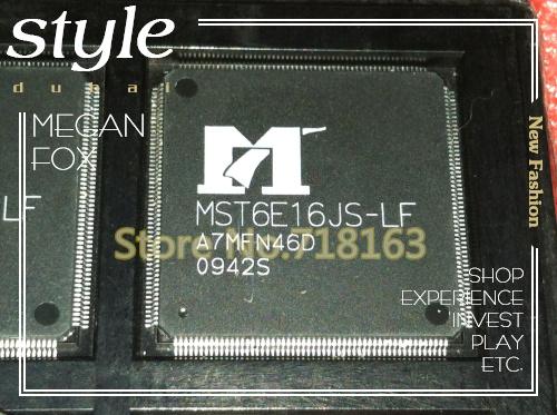 Free shipping 10PCS MST6E16JS-LF-S1 LCD TV video chip(China (Mainland))