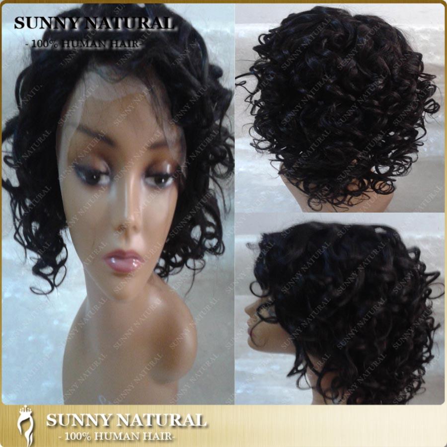 #1b color brazilian kinky curl synthetic hair lace wigs synthetic brazilian kinky curl lace frontal wig Brazilian hair front wig