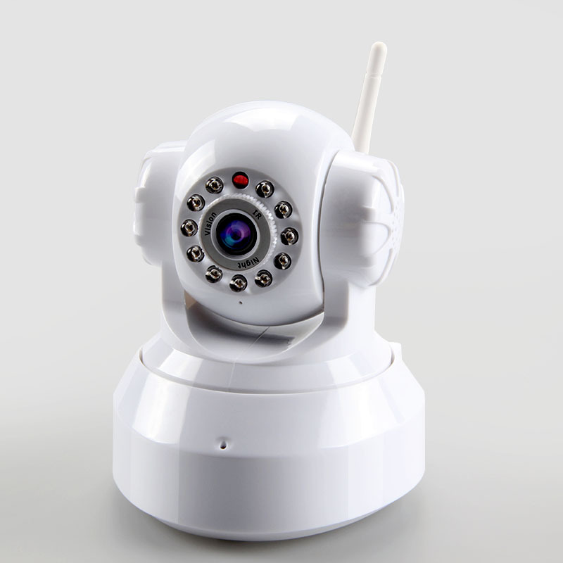DHL/Fedex Commercial Express Free Shipping Plug and Play Wireless IP Camera With TF/Micro Card Slot Free Iphone Android Software(China (Mainland))