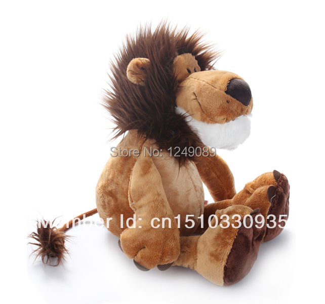 High Quality 45 cm NICI lion plush toy Birthday Gift stuffed animal toys for Gift(China (Mainland))