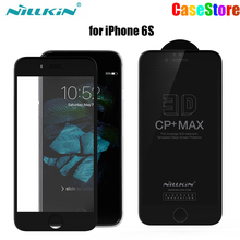 NILLKIN Amazing 3D CP+ MAX Nanometer Anti-Explosion 9H Tempered Glass Screen Protector For Iphone 6 6s 6 plus