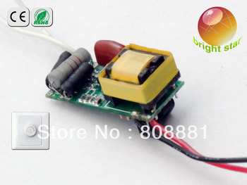 3x3W  triac led driver dimmable led high power led driver circuit