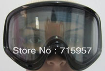 Unisex Snowboard Ski Goggle Double Lens AntiFog UV400 Protection CE Snowing Goggles 3PCS Silicon Strip (Order for Export Czech))