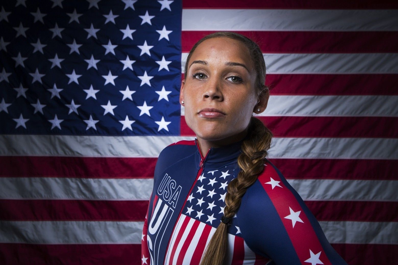 "Lolo Jones Track and field athlete Fabric poster 20"" x13"" Decor 10(China (Mainland))"