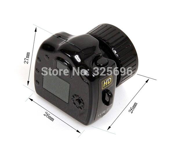 Pocket Mini Camcorders Digital Video Mini Hidden DV Camera, Y2000 Smallest Mini DVR , HD 640X480 Free shipping !!!(China (Mainland))