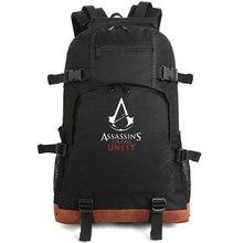 2015 NEW  Free Shipping Assasins creed backpack Hiking bag  Camping bag(China (Mainland))